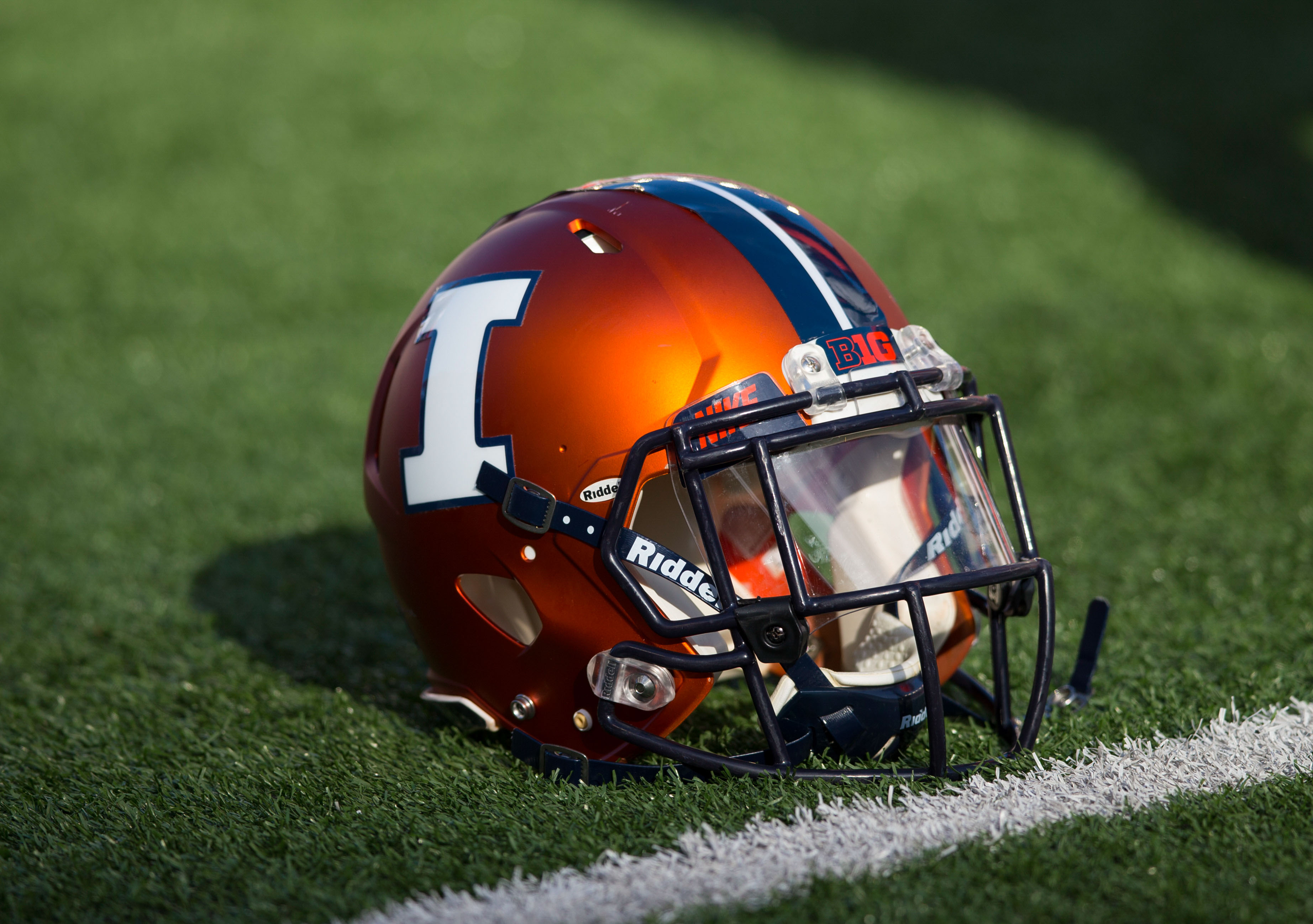 Illinois Football Helmet